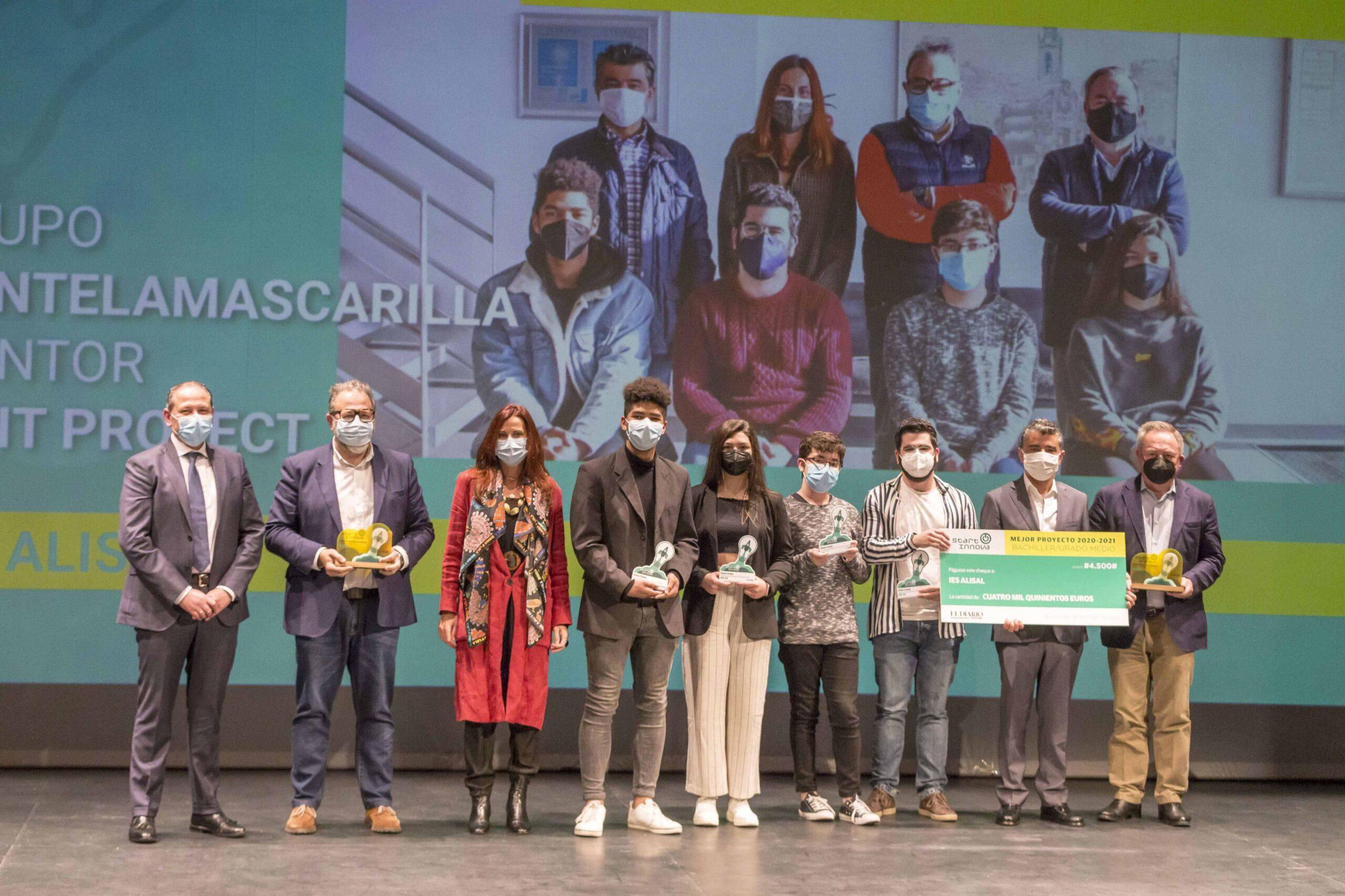 Smart Hospital Cantabria-Entrega premio Start Innova